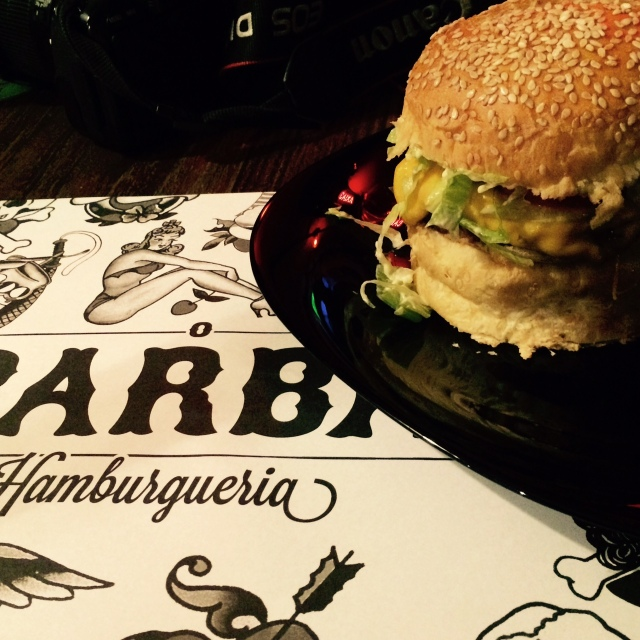 Hambúrguer do Barba