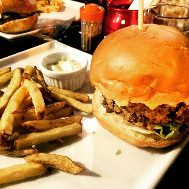 Hambúrguer da Rústica