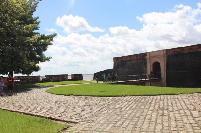 Entrada do Forte do Castelo