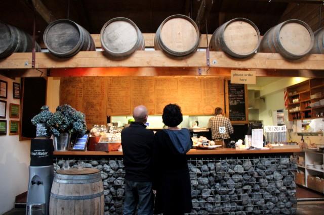 Degustando vinhos na Nova Zelândia