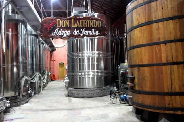Visitando a Don Laurindo.