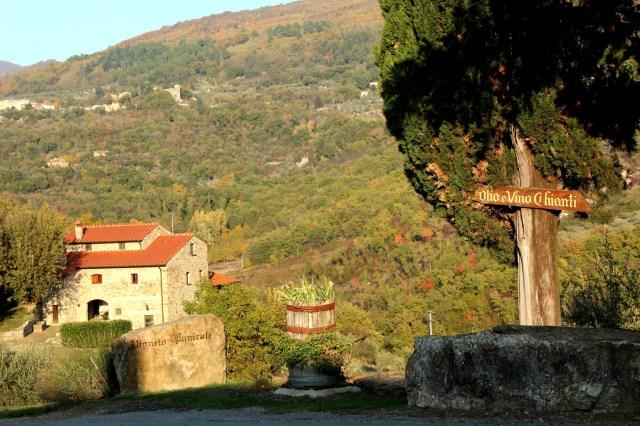 Propriedade do Castello del Trebbio na Toscana