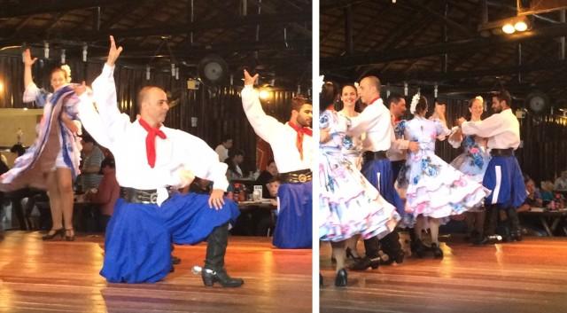 Teve apresentações de danças gaúchas e outras tradições locais no CTG!