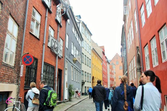 A colorida Copenhague