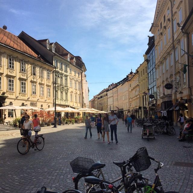 Liubliana é puro charme!
