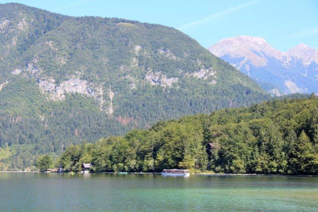 Vista lago Bohnij