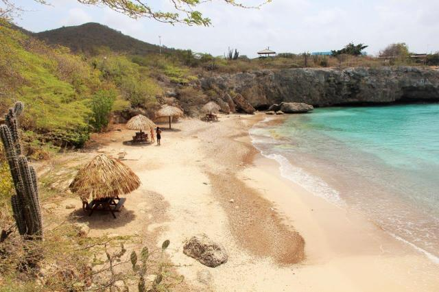 Playa Jeremi vista de cima.